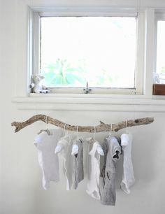 Branch clothing rail
