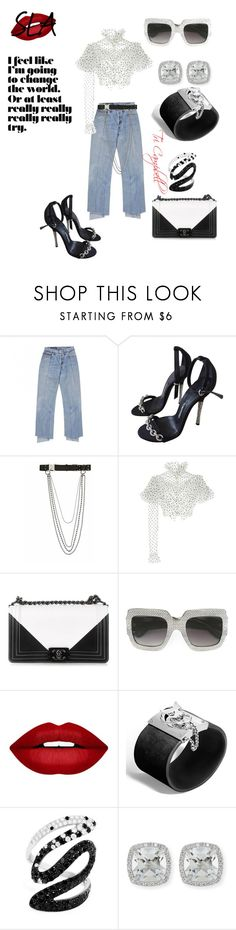 """Not Your Averge"" by tritheslaqueen on Polyvore featuring Tom Ford, Alyx, Rodarte, Chanel, Gucci, Forever 21, John Hardy, Effy Jewelry and Frederic Sage"