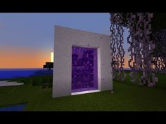Minecraft: how to make a portal to heaven - (minecraft portal to heaven)…