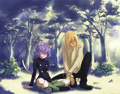 Kite and neferpitou Hunter x Hunter Anime Dad, Otaku Anime, Manga Anime, Hunter Page, Hunter X Hunter, Anime Zodiac, Hunter Anime, Architecture Tattoo, Kaito