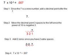 Scientific Notation and Monomials | Exponents | Pinterest ...