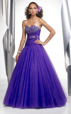 Purple Sweatheart Girl s Party Prom Evening Dress Type : Ball Gown. Design : Off-Shoulder. Collar : Sweatheart. Material : Tulle. Sleeve : Sleeveless. Technics : Beading. Style : Elegant. Size : Full-Length. Customized : Customized. Color : as Photo. Age : Youth. Back Design : Lace up with Short Zipper. Lining : Full Lining. Item Type : Prom Dress. Decoration : with Beading,Crystal. To use high qulity of silk chiffon, with nice color and attractive beaded. 1. Style can be changed as customers Tulle Prom Dress, Homecoming Dresses, Strapless Dress Formal, Bridesmaid Dresses, Wedding Dresses, Prom Gowns, Dress Long, Homecoming Hair, Organza Dress