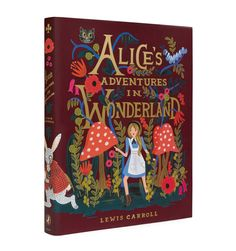Alice's Adventures in Wonderland 150th Anniversary Edition Hardcover Book with Matching Bookmark - Rifle Paper Co