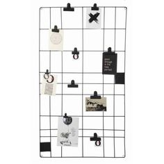Vtwonen memo board 60 x 105 cm - magnetic. Hang your cheerfulest quotes, important shopping list or sweetest photos on the vtwonen memo board. Memo Boards, My Living Room, Home And Living, Magnetic Memo Board, H & M Home, My New Room, Interior Styling, Room Inspiration, Home Accessories