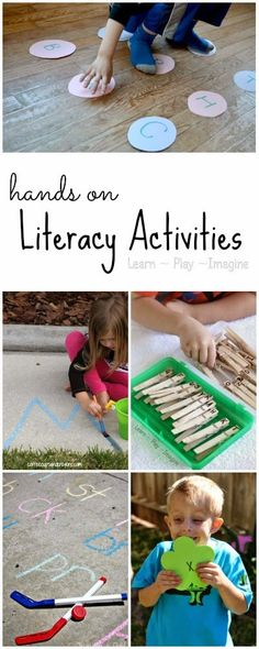 Hands on Literacy Activities {The Sunday Showcase}