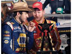 Dale Earnhardt Jr.: Chase Elliott   Jr has found another top notch driver!