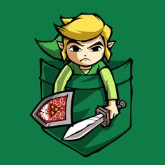 Check out this awesome 'POCKET+LINK' design on TeePublic! http://bit.ly/1p5JkCb