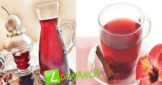 Hibiskus Çayı ve Hibiskus Şerbeti Hakkında - Lokmanca Alcoholic Drinks, Gluten, Bottle, Glass, Health, Food, Hibiscus, Health And Fitness, Alcoholic Beverages