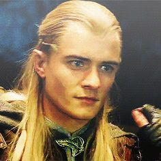 legolas's smile is so amazing
