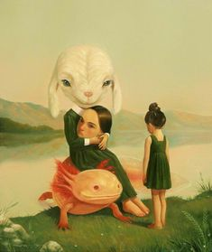 I love this work by Roby Dwi Antono – go check him out His artwork is stunning! Creepy Art, Weird Art, Arte Horror, Horror Art, Arte Lowbrow, Surealism Art, Wow Art, Pop Surrealism, Psychedelic Art