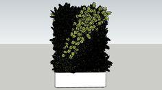 Vegetation Wall 2 - 3D Warehouse