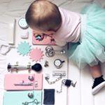 """64 Likes, 3 Comments - Бизиборды. Ящики для игрушек (@busyboard.mamafree) on Instagram: """"Полюбился всё-таки многим жёлтенький на венге. Солнечное летнее сочетание! Модель: mamaFree…"""""""