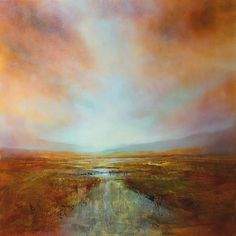 "Annette Schmucker, ""Weites Land_"" With a click on 'Send as art card', you can send this art work to your friends - for free!"