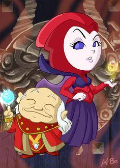 Dungeon Master and Kareena by kevinbolk.deviantart.com on @deviantART