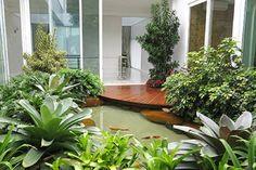 Water features garden