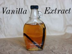 Artificial Vanilla Extract is sometimes made with wood byproducts and chemicals.  Try this yourself.  Healthier!
