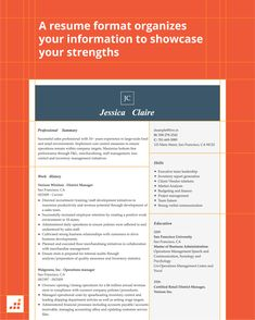 A great first impression starts with a great resume. We've gathered our nine favorite resume formats to help you succeed in your 2019 job search. Modern Resume Format, Best Resume Format, Types Of Resumes, Great Resumes, Resume Advice, Chronological Resume, Functional Resume, Executive Resume, Resume Words