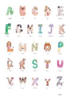 The Animal Alphabet - The Art of Sarah Doyle