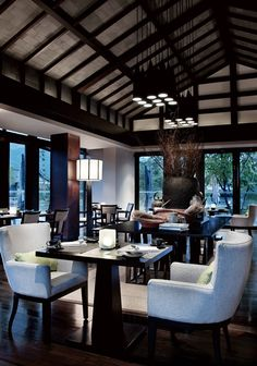 Restaurant at the Lijiang Pullman Resort and Spa Hotel   Project Location: Yunnan, China   Firm: CCD/CHENG CHUNG DESIGN, Hong Kong   Category: Restaurants   Award: Global Excellence Awards Best of Category Winner