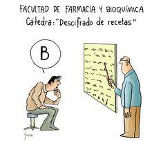 Clases de Farmacia #humor