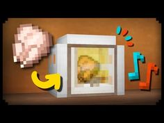 ✔ Minecraft: How to make a Working Microwave - YouTube