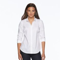 Women's Apt. 9 Essential Wrinkle-Resistant Shirt