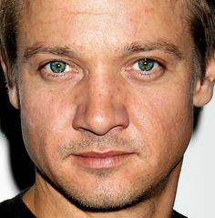Close Up of Jeremy Wearing Black T-Shirt With Those BEAUTIFUL Green Eyes!