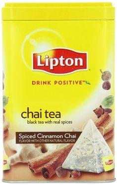 Lipton Chai Pyramid Tea Gift Tin - http://www.yourgourmetgifts.com/lipton-chai-pyramid-tea-gift-tin/