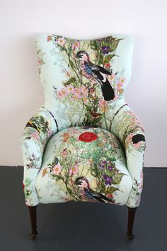 Fascinating Useful Tips: Upholstery Armchair Ottomans upholstery corners interior design.Upholstery Tips Posts. Funky Furniture, Unique Furniture, Shabby Chic Furniture, Painted Furniture, Furniture Design, Coaster Furniture, Furniture Removal, Chair Design, Recycled Furniture