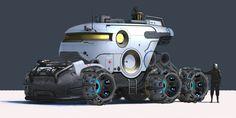 design/sci-fi/ambulance/composition/color