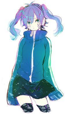 Ene. Fanarts Anime, Anime Characters, Manga Anime, Anime Art, Character Art, Character Design, Character Concept, Hatsune Miku, Anime Songs