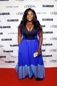 """celebritiesofcolor: """" Danielle Brooks attends 2015 Glamour Women Of The Year Awards at Carnegie Hall on November 9, 2015 in New York City. """""""