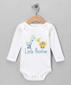 'Little Brother' Organic Bodysuit on #zulily today!  http://www.zulily.com/invite/jpalmer893/p/white-little-brother-organic-bodysuit-infant-27630-2323962.html?tid=social_pin_ref_shareviaicon_na_zcvp_88cbfdba06e1c00211258771f45301e1=2323962