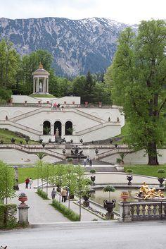 linderhof palace, bavaria