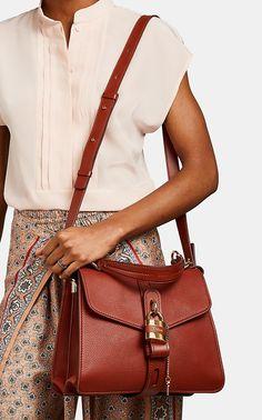 Barneys New York Site Small Shoulder Bag, Leather Shoulder Bag, Leather Handle, Smooth Leather, Chloe Handbags, Barneys New York, Sophisticated Style, Beautiful Bags, Bag Accessories