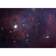 APOD: 2006 January 30 - NGC 1999: South of Orion ❤ liked on Polyvore featuring backgrounds, pictures, photos, purple, space and fillers
