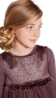 Fellows Jr Dress, Purple - POMPdeLUX