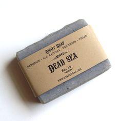 Dead Sea Soap - Natural soap,Unscented soap,Vegan soap,Detox soap