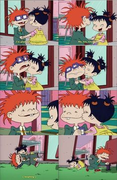 Now this is what I call a good brother-sister relationship! Brother And Sister Relationship, Brother Sister, Rugrats Characters, Rugrats All Grown Up, Jimmy Neutron, Nickelodeon Cartoons, Baby 1st Birthday, Cartoon Pics, Gummy Bears