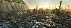 futuristic interpretation of our cities