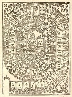 Game of the Goose (1700s) by peacay, via Flickr