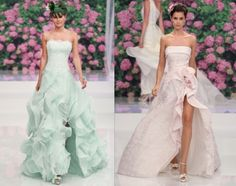 Something Tiffany Blue by MissBeckyB. | Wedding: ABITI DA SPOSA 2013: ATELIER AIMEE MONTE NAPOLEONE