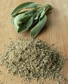 Sage is the dried leaves of the herb Salvia officinalis. Sage is highly aromatic, with piney, woody notes. It is ideal for flavoring pork, beef, poultry, lamb, tomatoes, squash, potatoes, rice, and pasta. Sage is used in Greek, Italian and European cuisines.