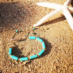 Find at www. Handmade Bracelets, Handmade Jewelry, Turquoise Necklace, Accessories, Handmade Jewellery, Jewellery Making, Diy Jewelry, Craft Jewelry, Handcrafted Jewelry