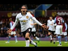 Radamel Falcao Great Goal 1-1 ~  Aston Villa vs Manchester United 2014 Premier League