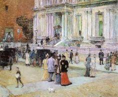 The Manhattan Club - Childe Hassam - The Athenaeum