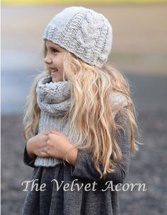 Knitting PATTERN-The Snowbound Toddler Child by Thevelvetacorn