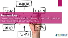Develop a transparent content for your website which describe everything to your visitors - http://www.slideshare.net/techmagnate/how-to-create-cornerstone-content-that-drives-traffic-to-your-website?related=1
