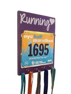 RUNNING medals holder holder for running by runningonthewall, $36.00