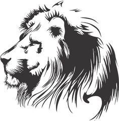 Lion Decal Aufkleber Wand Vinyl Tier Dschungel von BoopDecals